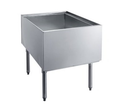 Krowne Metal PT-2436 10-in D Pass-Thru Ice Bin Restaurant Supply