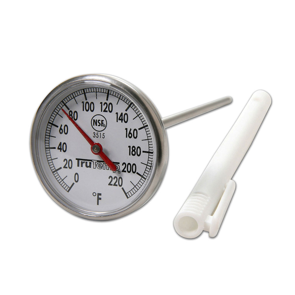 Taylor 3515 Instant Read Thermometer w/ 1.75-in Dial, 0 to 220 F Degrees