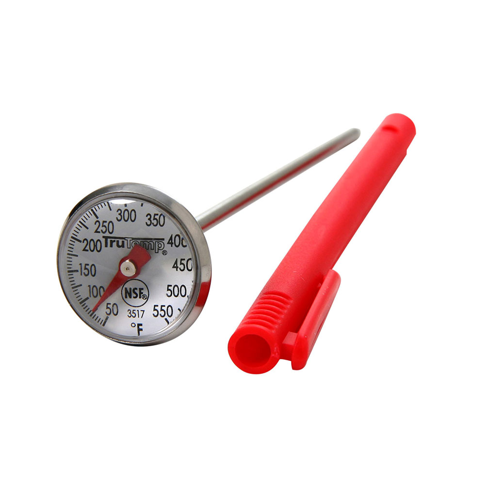 Taylor 3517 Instant Read Thermometer w/ 1-in Dial, 50 to 550 F Degrees
