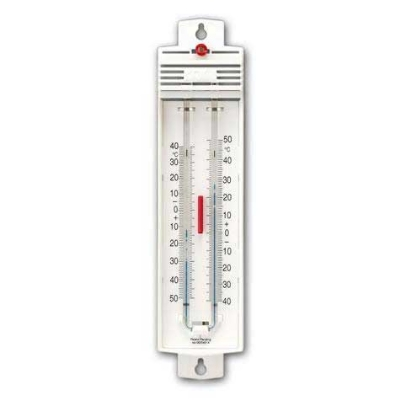 Taylor 5459 Celsius Scale Permacolor-Filled Thermometer w/ Magnet Reset