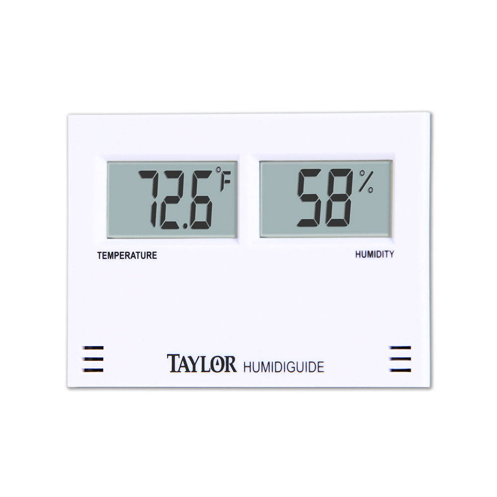 Taylor 5566 Digital Hygrometer w/ 20 to 95 Percent Humidity Range, Celsius