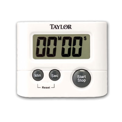 Taylor 5827-21 Digital Timer w/ .75-in LCD Readout, Minute & Second