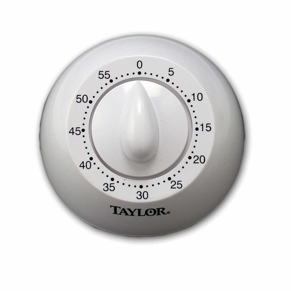 Taylor 5832 60-Minute Manual Timer w/ Long Ring