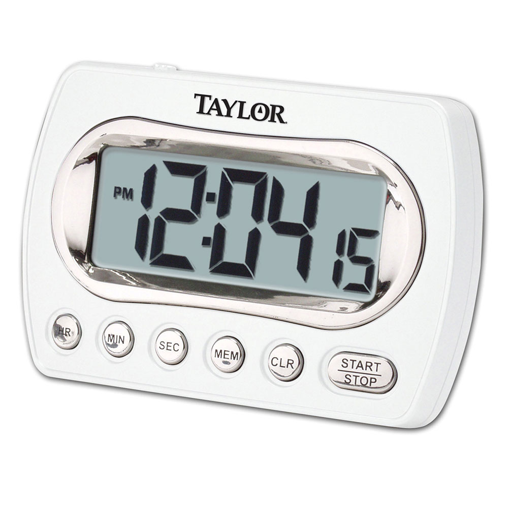 Taylor 5847-21 Digital Timer LCD Readout - Up To 24-hrs, Clock