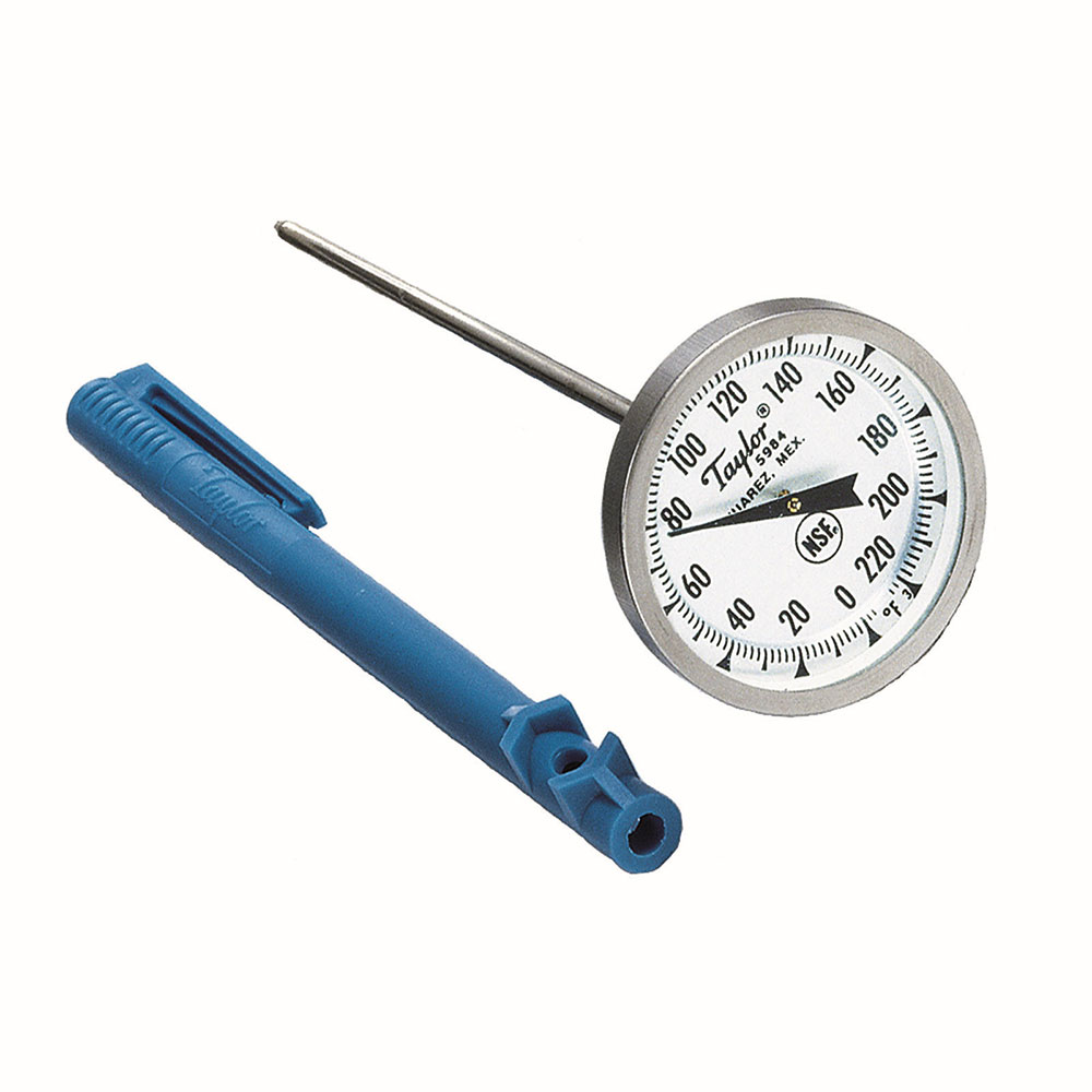 Taylor 5984J Instant-Read Dial Roast Meat Thermometer, 0 to 220 Degree Capacity
