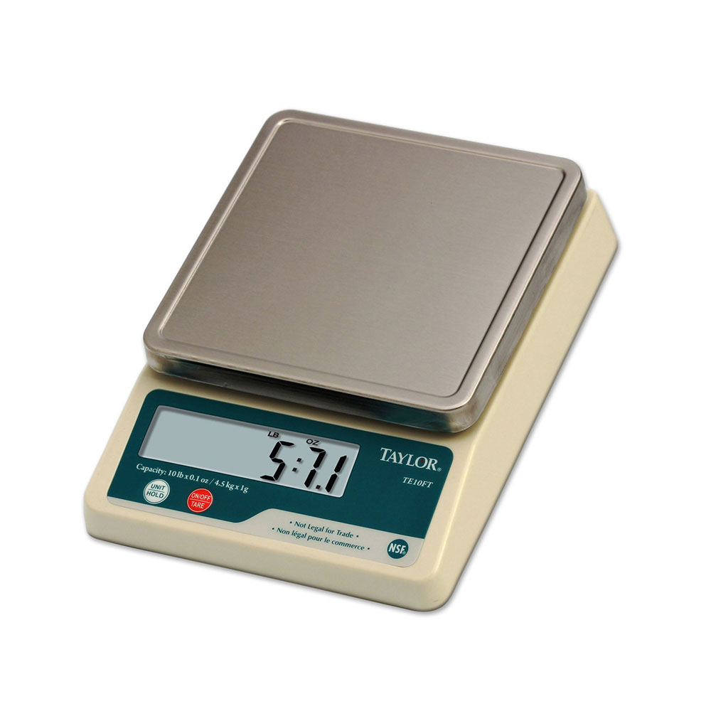 Taylor TE10C Scale, Electric, Digital, 10 lb x