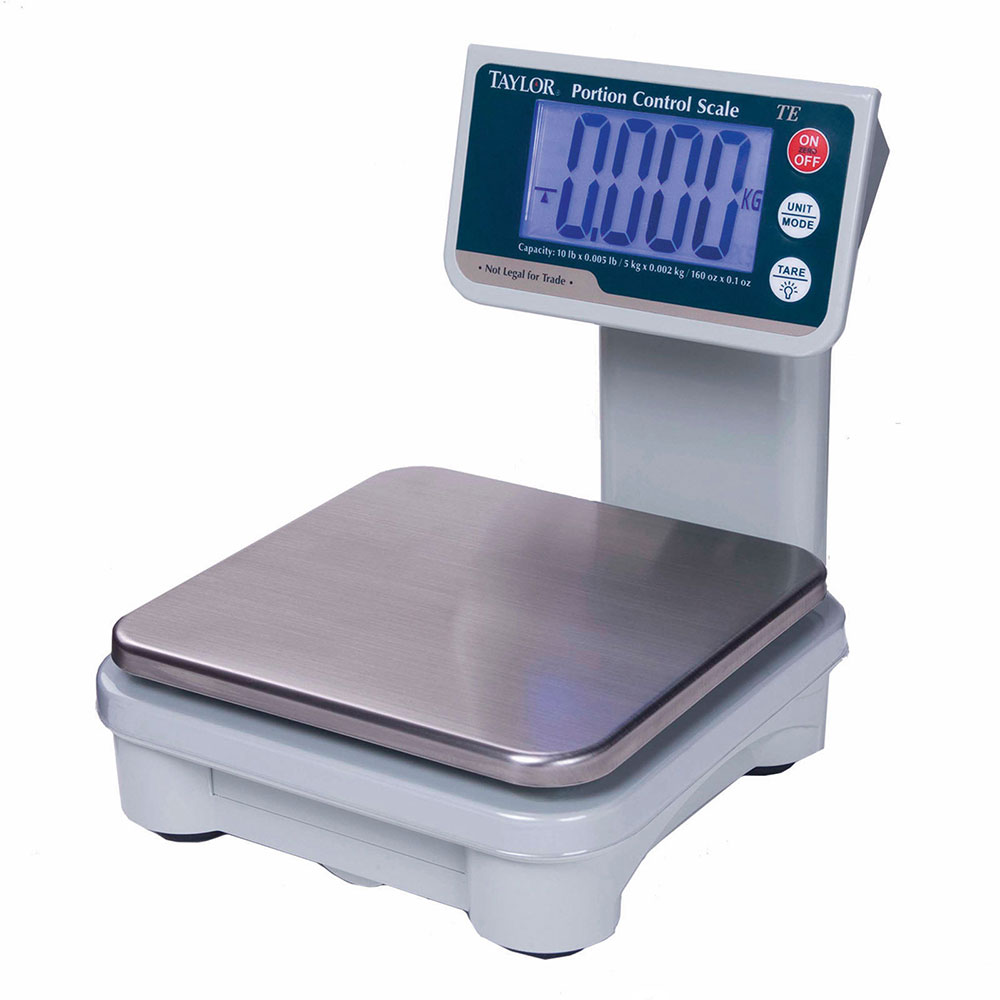 Taylor TE10T Digital Portion Scale w/ Tower LCD Readout, AC or Battery