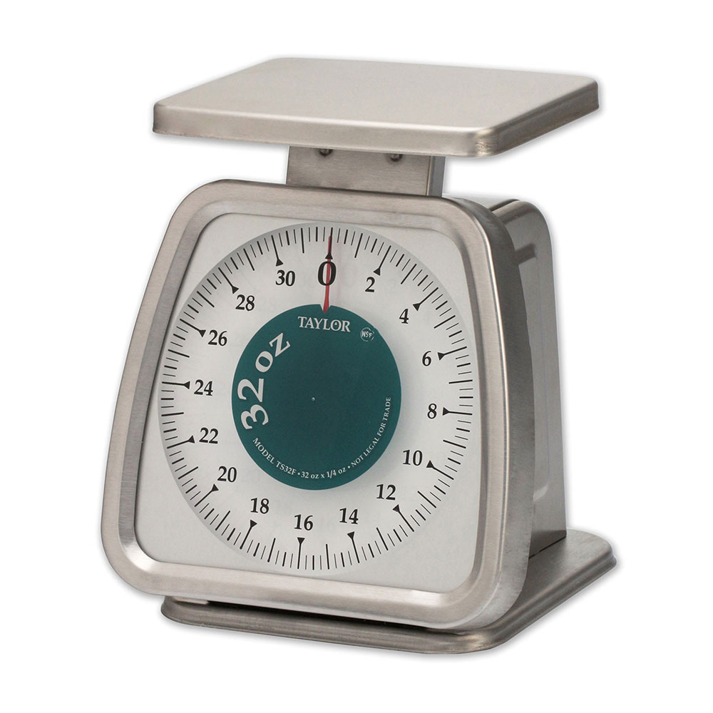 Taylor TS32F 32 oz Portion Control Scale w/Fixed Dial