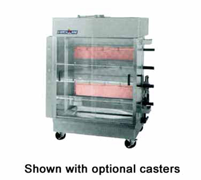American Range ACB4NG Gas 4-Spit Commercial Rotisserie, NG