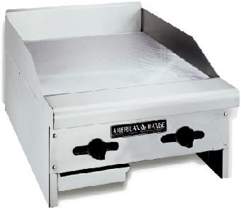 American Range ACCG24LP 24-in Countertop Griddle w/ Steel Plate, Manual Controls, LP