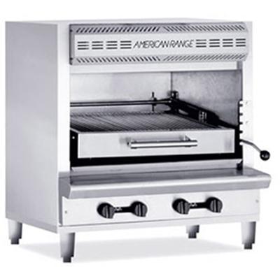 American Range AGBU-1 LP Infrared Broiler w/ 1-Deck & Stainless Exterior, 80000-BT