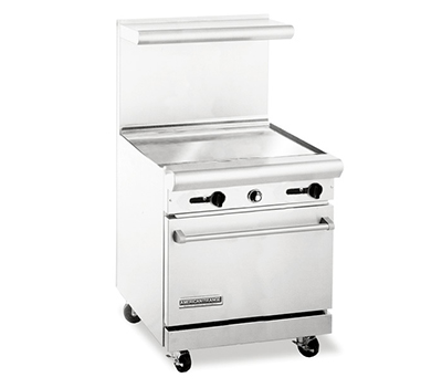 "American Range AR30-30G 30"" Gas Range with Griddle, NG"