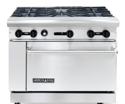 American Range AR5NG 36-in Range w/ 5-Burners and 26.5-in Oven, NG