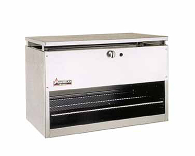 "American Range ARCM-60 60"" Infrared Burner Gas Cheese Melter,"