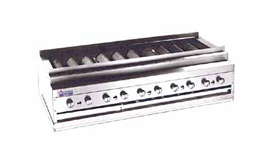 American Range ARKB-30 NG 30-in Counter Kebob Broiler w/ Heavy Duty Radiant Bars, 150000-BTU, NG