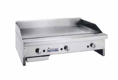 American Range ARMG-136 LP 36-in Griddle w/ 1-in Steel Griddle Plate & Manual Controls, LP