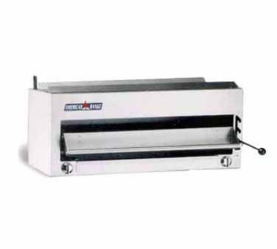 American Range ARSB36 LP 36 in Salamander Broiler, 2 Infrared Burners, Manual Control, NSF, LP