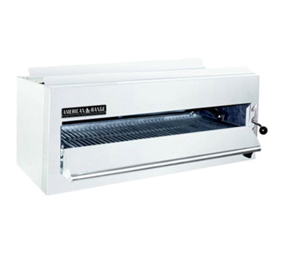 American Range ARSM36 LP 36 in Salamander Broiler, 1 Infrared Burner, Manual Control, NSF, LP