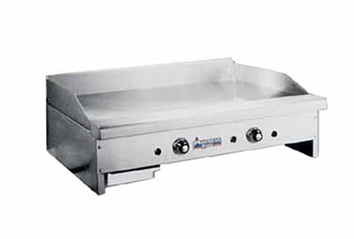 American Range ARTG-72 LP 72-in Counter Griddle w/ .75-in Steel Plate, Thermostatic, 180000-BTU, LP