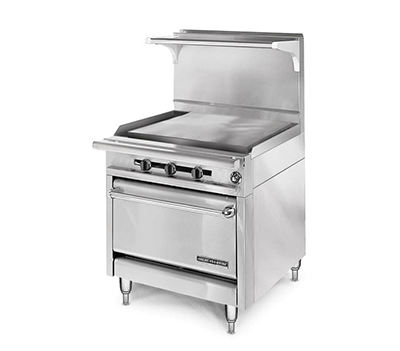 "American Range HD34-34PG-1 34"" Gas Range with Griddle, NG"