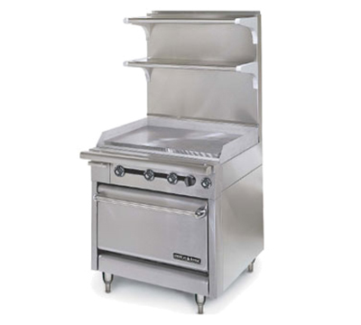 "American Range HD34-34TG-1C 34"" Gas Range with Griddle, LP"