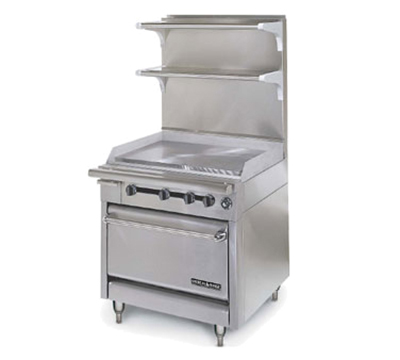 "American Range HD34-34VG-1C 34"" Gas Range with Griddle, LP"