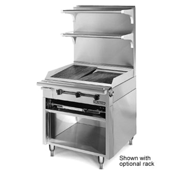 "American Range HD34-CRB-1 34"" Gas Range with Charbroiler, NG"