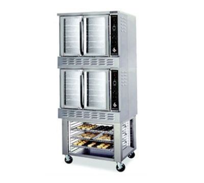 American Range M2G NG Double Deck Convection Oven, Bakery Depth, Manual Control, NG