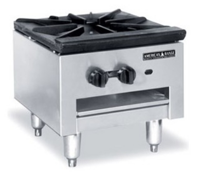 American Range SPSH18 LP 18-in Stock Pot Range w/ Cast Iron Top & Manual Control, LP