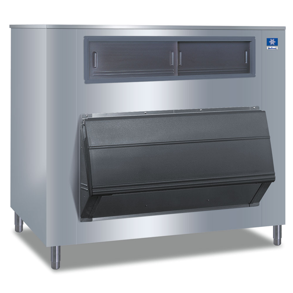 """Manitowoc Ice F-1325 60"""" Wide 1325-lb Ice Bin with Lift Up Door"""