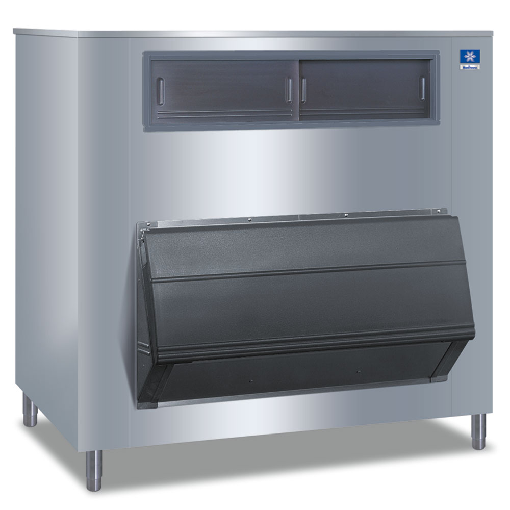 """Manitowoc Ice F-1650 60"""" Wide 1660-lb Ice Bin with Lift Up Door"""