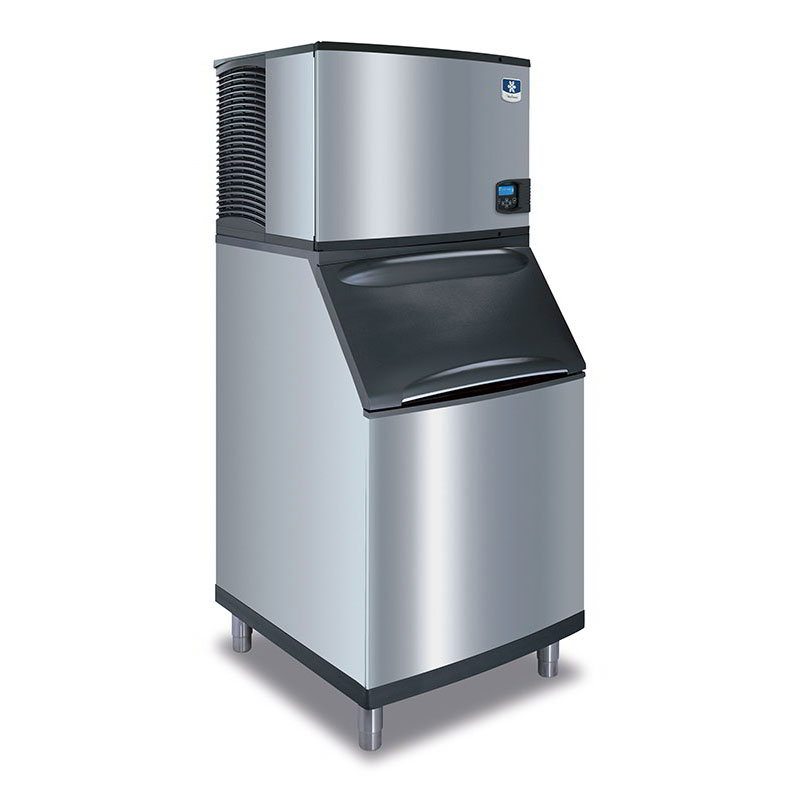 Manitowoc Ice ID-0606A/B570 Cube Style Ice Maker w/ 632-lb/day & 430-lb Capacity Bin, Stainless
