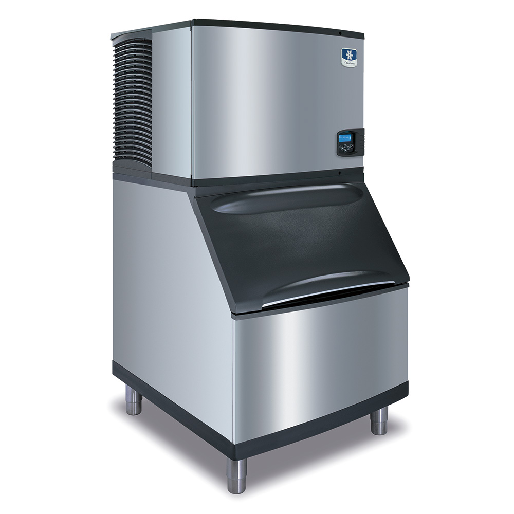 Manitowoc Ice IY0606AB570 Cube Style Ice Maker w/ 635-lb/24-hr & 430-lb Bin, Air Cool, Stainless
