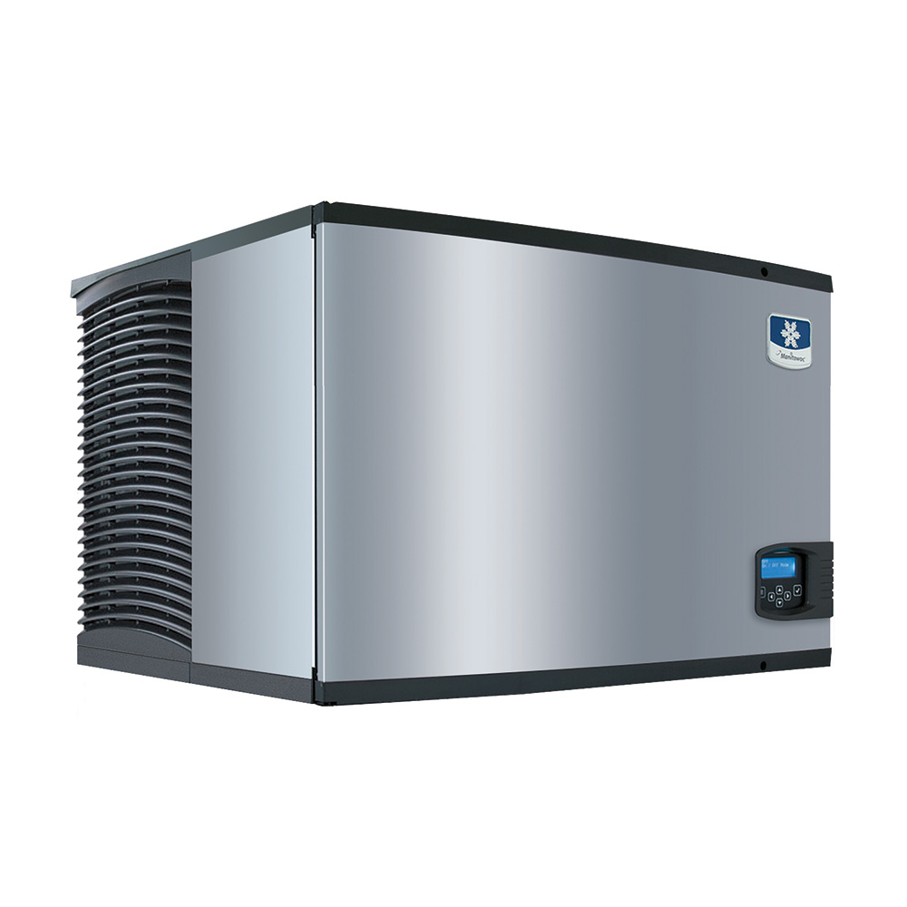 Manitowoc Ice IY-0606W Cube-Style Ice Maker w/ 635-lb/24-hr Capacity, Water Cool, 1/2-Dice, 208/1v