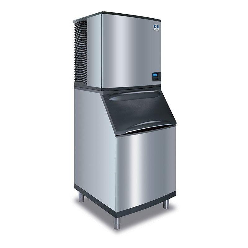 Manitowoc Ice IY-1106A-261/B-570 High Volume Cube Ice Maker w/ 430-lb Bin - Air Cooled, 208-230v/1