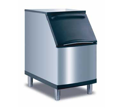 Manitowoc Ice B-320 Ice Bin w/ 210-lb Storage Capacity & Top Hinged Front Door, Stainless