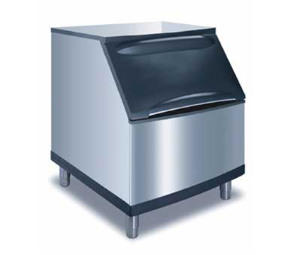 Manitowoc Ice B-400 Ice Bin w/ 290-lb Storage Capacity & Top Hinged Front Door, Stainless