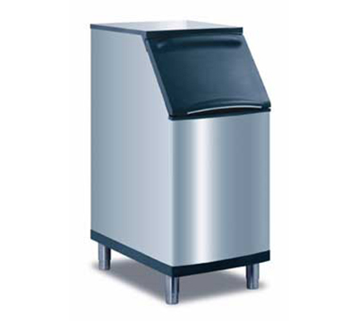 Manitowoc Ice B-420 Ice Bin w/ 310-lb Storage Capacity & Top Hinged Front Door, Stainless