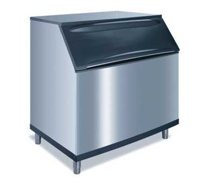 Manitowoc Ice B-970 Ice Bin w/ 710-lb Storage Capacity & Top Hinged Front Door, Stainless