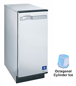 Undercounter Cube Ice Maker - 53-lb/24-hr, 25-lb Storage 115v