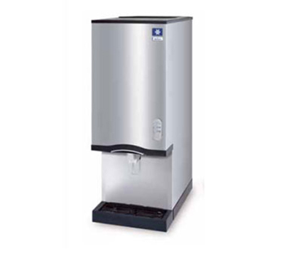 Manitowoc Ice RNS-20A 42-in Nugget Ice Maker Water Dispenser w/ 20-lb Storage Bin, Air Cool, Export
