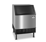 Half Cube Style Undercounter Ice Maker w/ 132-lb/24-hr & 90-lb Bin Capacity, Air Cool