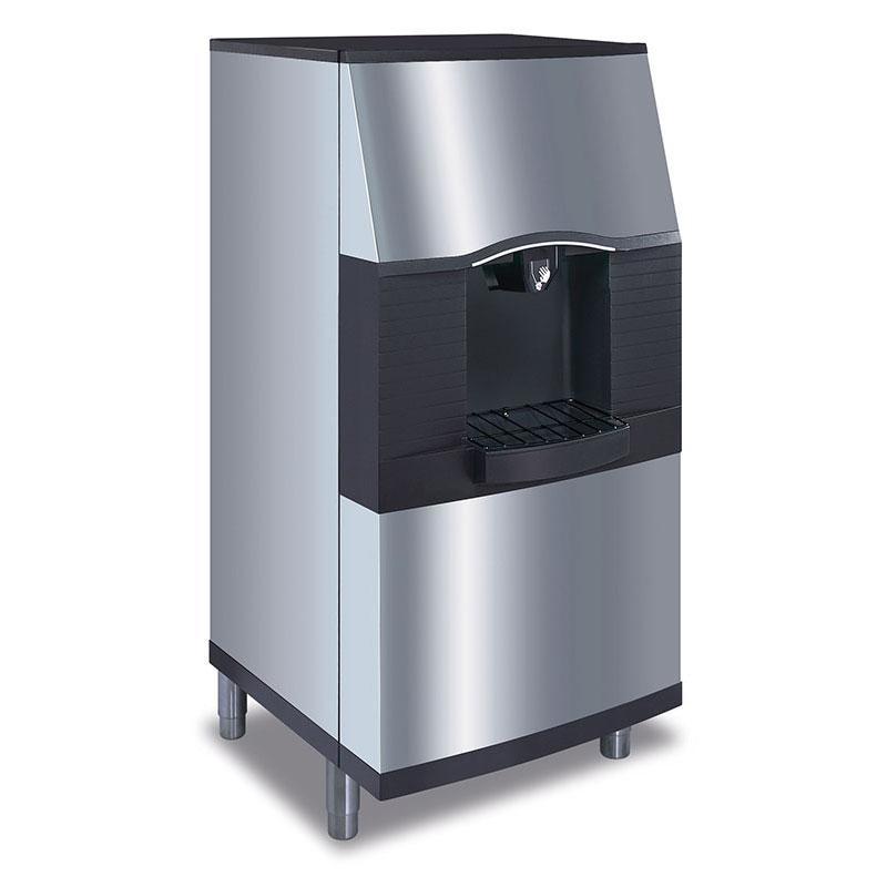 Manitowoc Ice SFA-291 Push Button Vending Ice Dispenser w/ 180-lb Capacity, Built-In Water Valve, 208/1v