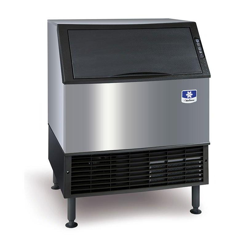 Manitowoc Ice UY-0310W Half Dice Cube Ice Maker - 310-lb/24-hr & 110-lb Bin Capacity, Water Cool