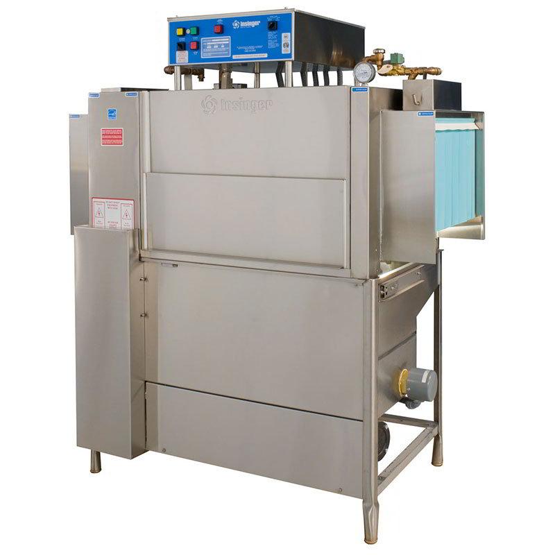 Insinger ADMIRAL444 Admiral Dishwasher, Conveyor Type, Energy Star, 233 Racks/Hr