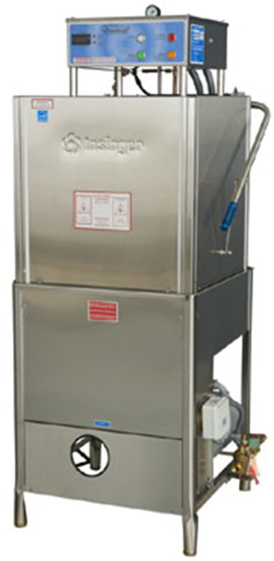 Insinger COMMANDER18-6-B Fully Automatic Dishwasher - Door Type, High Temperature, Stainless