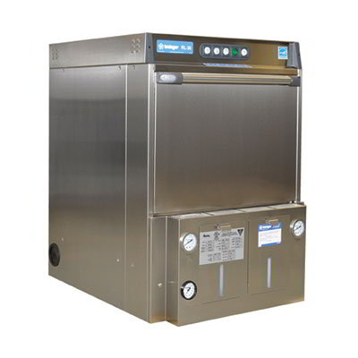 Insinger RL30 Undercounter Dishwasher w/ Built In Booster Heater, 30-Racks/Hr