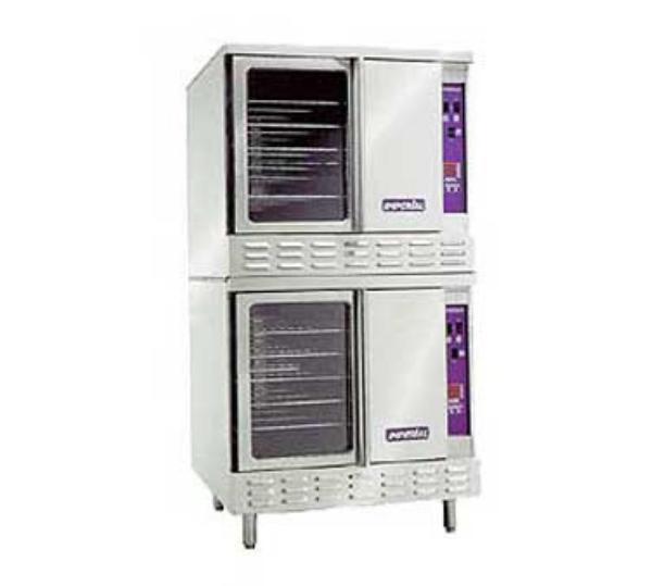 Imperial ICVE-2 Double Full Size Electric Convection Oven - 208/