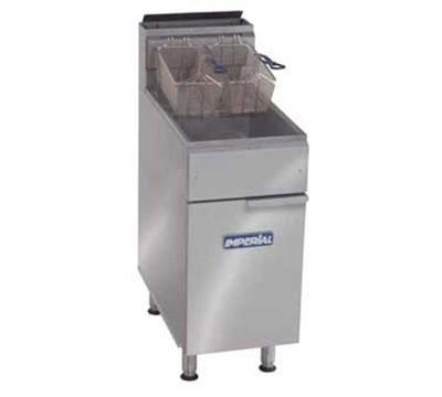 Imperial IFS-50 NG Gas Fryer - (1) 50-lb Vat, Floor Model,