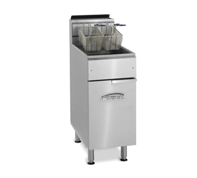 Imperial IFS-50-OP NG Gas Fryer - (2